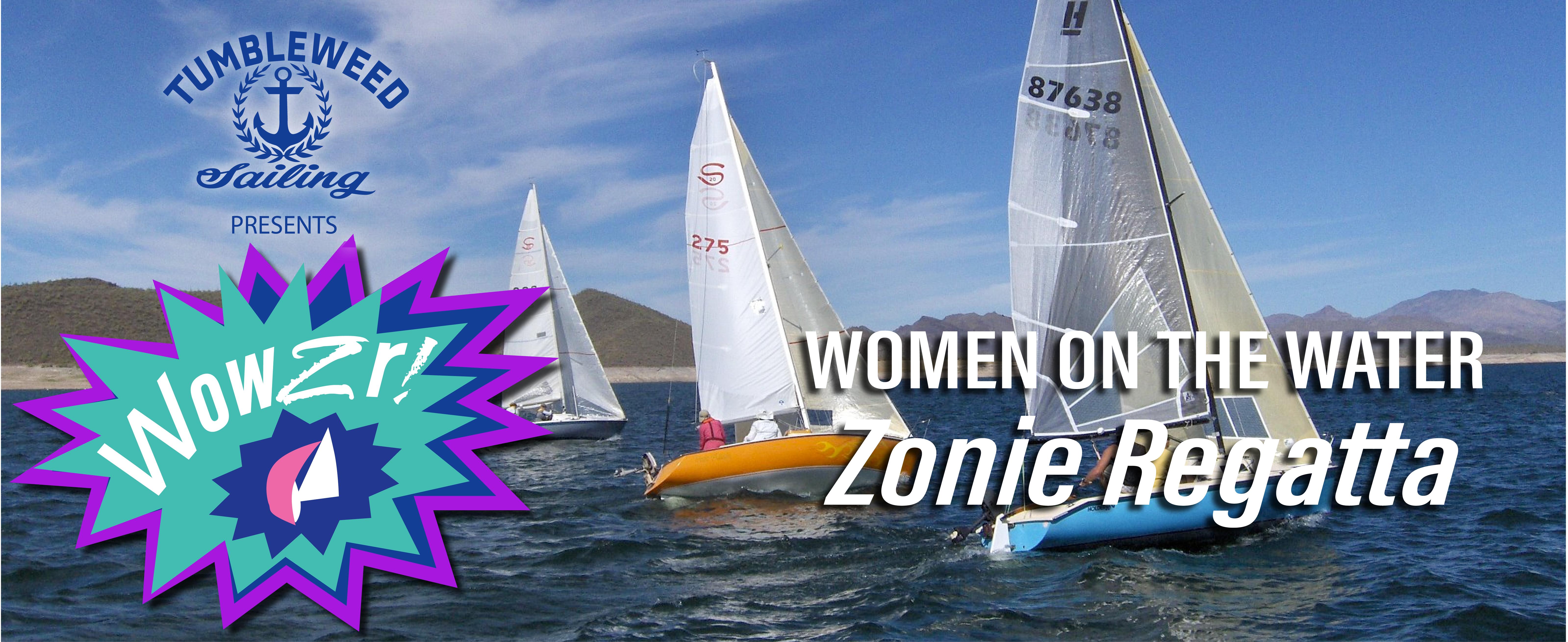WOWZR — Women on the Water, Zonie Regatta | Women's Sailing