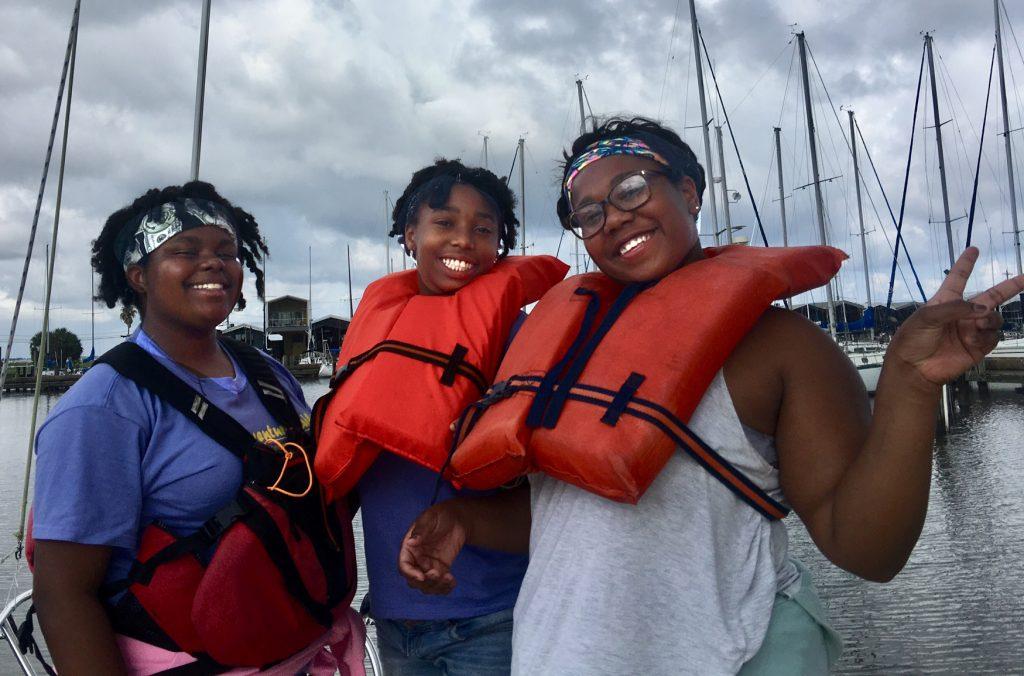 life jackets, AdventureSail